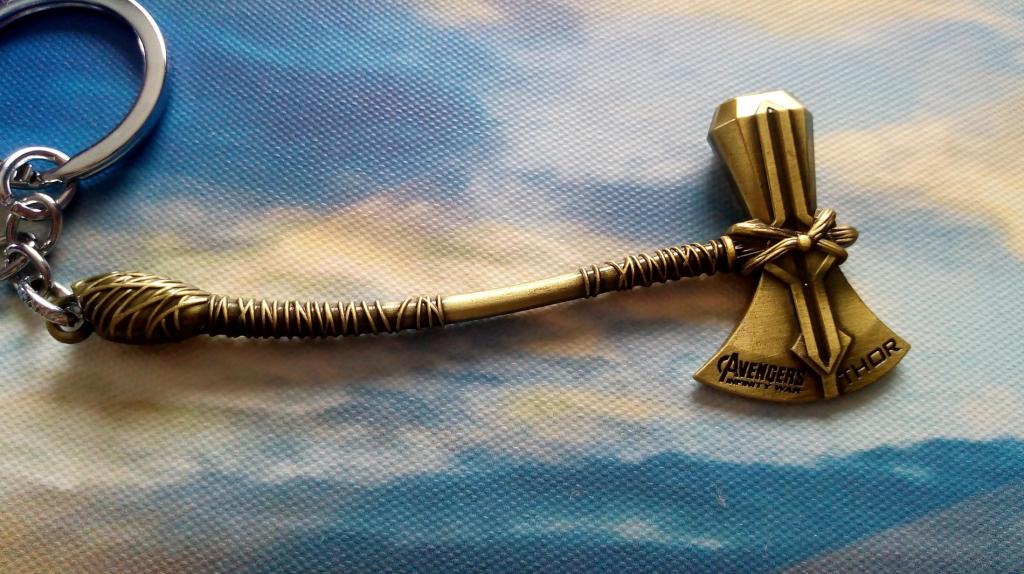Prívesok na kľúče Thor stormbreaker bronzová od 4 c61624ad9ea