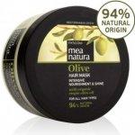 MEA NATURA Olivová Vlasová Maska Intenzívna starostlivosť a lesk 250 ml