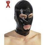LateX latexová maska čierna