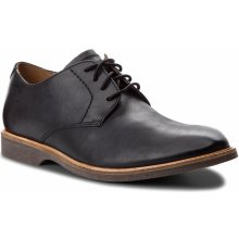 Poltopánky CLARKS - Atticus Lace 261361557 Black Leather