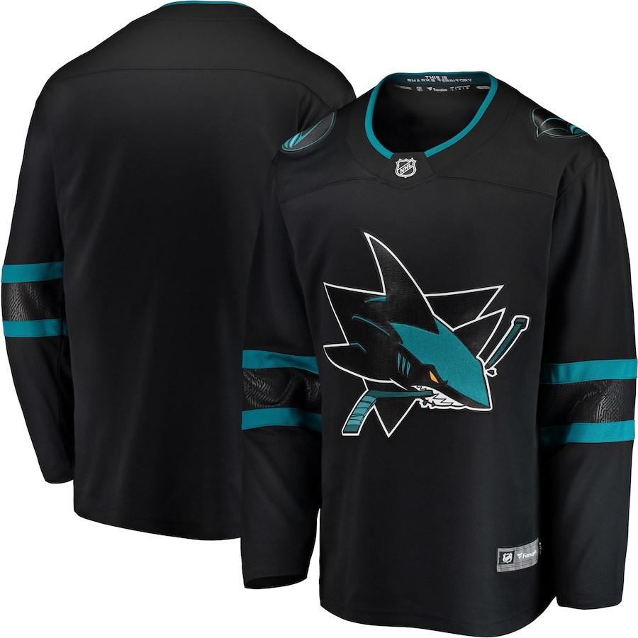 af9d2d4110f01 Hokejový dres Fanatics Branded Dres San Jose Sharks Breakaway ...