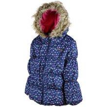 Bugga dievčenská zimná bunda Puffy modrá