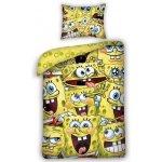 Halantex obliečky SpongeBob bavlna 140x200 70x80