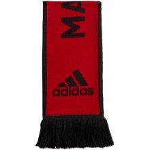 599cecfc6956a Adidas Šál Manchester United FC červeno-čierna
