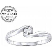 Silvego Strieborný prsteň so Swarovski® Crystals SILVEGOB25021 bde320c8d61