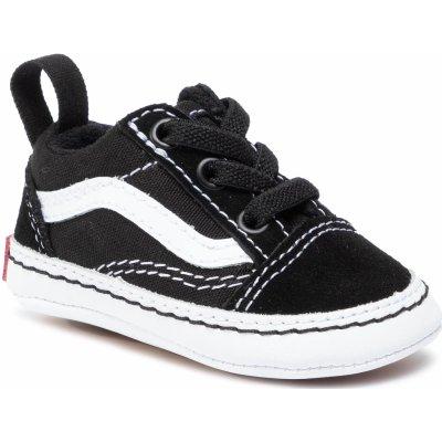 Vans Old Skool Crib Black/True White detské letné topánky