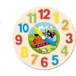 Bino hodiny puzzle Krtko
