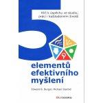 5 elementů efektivního myšlení - Edward Burger, Michael Starbird