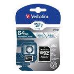 Verbatim microSDXC 64GB UHS-I U1 47042-V