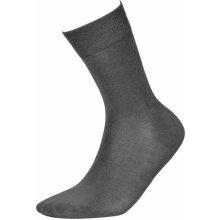 b4d90a22ec0 pánske bambusové ponožky šedé