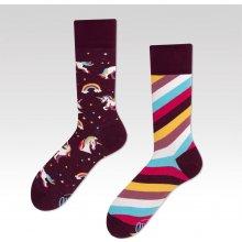 Many Mornings Barevné ponožky The Unicorn 2482840e8a
