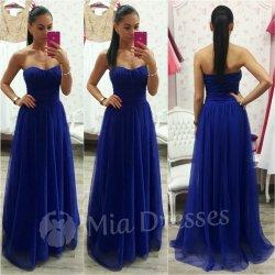 Dlhé spoločenské šaty modrá od 64 7de35273e0c