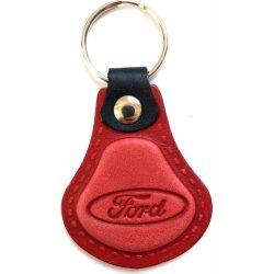 Špecifikácia Prívesok na kľúče Kožená Ford červená AUTO Two M ... 5743618a623