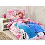 Jerry Fabrics detské bavlna obliečky Ľadové kráľovstvo Frozen pink 2016 140x200 70x90