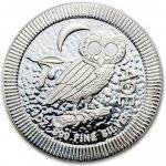 ec74929e2 New Zealand Mint Stříbrná mince 2 Dollars Athenian Owl sova athénská, sýček  obecný Niue 1