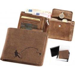 Kožená peňaženka rybár od 24 1075b935dcd