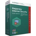 Kaspersky Internet Security multi-device 2017 1 lic. 12 mes.