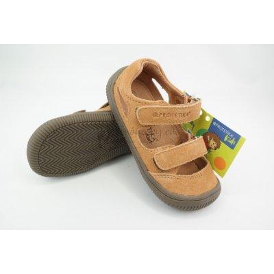 Protetika Detské letné barefoot topánky Berg Brown