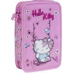 Hello Kitty poschodový peračník - plný - Pink