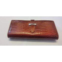 ba0176c3af Cossroll krokodília koža dámska kožená peňaženka alternatívy ...