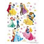 AG Design DK-1774 samolepící dekorace Princezny Disney, rozmery 65x85cm