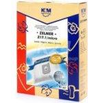 Sáčky K&M Z17.1 MICRO Zelmer Magnat, Jupiter 4ks + filtr