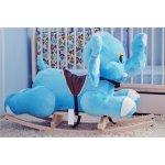 Smyk Hojdacia plyšová hračka modrý slon