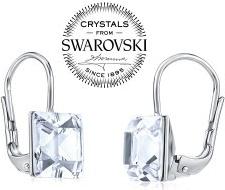 Swarovski Crystal SILVEGO strieborné náušnice číre SILVEGOB31474W  SILVEGOB31474W 8b3effc3752