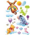 IMPOL TRADE Samolepky na stenu detské medvedík Pú SPDDYS402KP 83,5 x 50 cm