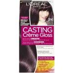 L'Oréal Casting Creme Gloss šetrné zloženie bez amoniaku tmavá fialová 316