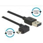 Delock 83853 USB 2.0-A samec EASY-Micro USB 2.0 samec pravoúhlý, 2m