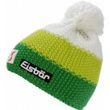 d275d177d Eisbär zimná čiapka Star Neon Pompon MÜ SP Kids 17/18 Žlto bielo zelená  biela