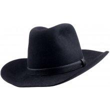 3dd638baf Čierny kovbojský klobúk Mes 85027