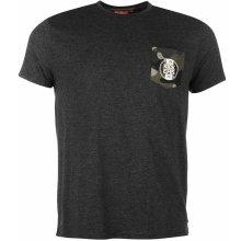 Pele NYC T Shirt Mens Charcoal Marl