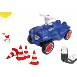 99e3321f750a BIG set autíčko Royal Blue New Bobby Car modré a ochranné návleky na topánky  a cestné