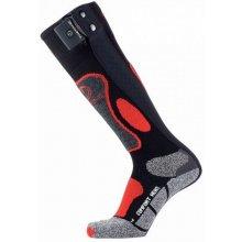 Therm-Ic Vyhrievané ponožky PowerSock Heat - pánske - 18/19 Čierno-oranžová