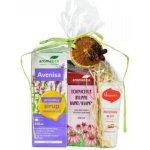 Aromatica Vícesložkový sirup so skorocelom 210 ml + Echinaceové kvapky 100 ml + Kosmín na pery 25 ml