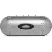 Oakley púzdro na okuliare Large Metal Vault Strieborná