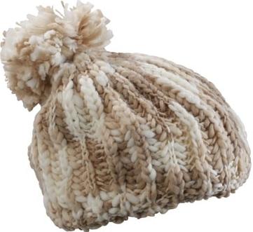 4133a209e Pletená čiapka s brmbolcom MB7977 Myrtle Beach Tmavě šedá / bílá od 6,88 €  - Heureka.sk