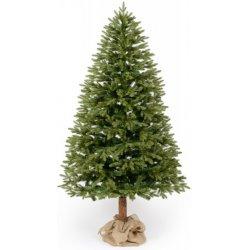 b3c6556f7 Umelý 3D vianočný stromček- Jedľa exclusive na pni 210cm od 225,00 ...