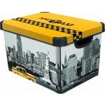 Curver box úložný dekoratívny L NEW YORK