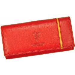 Harvey Miller Dámska kožená peňaženka Polo Club 5313 PL11 červená ... 697e6d29d65