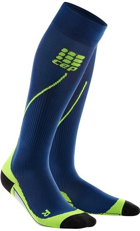 CEP Kompresné podkolienky Run Socks 2.0 men deep ocean green od 44 ... 4aa61b7cedb