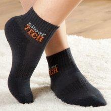 ponožky so striebornými vláknami 5 párov