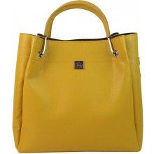 Grosso elegantná dámska kabelka S728 Žltá banánová a74a0aea1c6