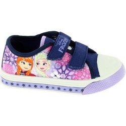 Disney by Arnetta Dievčenské svietiace tenisky Frozen fialové ... d6da749958d