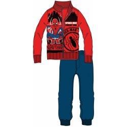 154ea7e1bc04 Disney by Arnetta Chlapčenská tepláková súprava Spiderman červeno modrá od  12