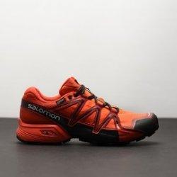 310efb9219ec Pánské Běžecké boty Salomon SPEEDCROSS VARIO 2 GTXR Scarle 398470 Oranžová