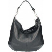 43e1f34b34 dámska kožená kabelka na rameno 5308 čierna