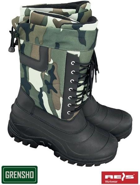 681897fdc73a Pracovná obuv REIS RW00-BSNOW-TAIGA Zateplená obuv - Zoznamtovaru.sk